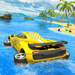 Water Surfer car Floating Beach Drive 1.17 MOD Unlimited Money
