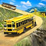 Offroad School Bus Driving Flying Bus Games 2020 1.40 MOD Unlimited Money