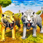 Virtual Tiger Family Simulator Wild Tiger Games 1.5 MOD Unlimited Money