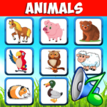 Animal sounds. Learn animals names for kids 6.6 MOD Unlimited Money
