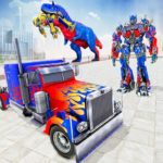 Police Truck Robot Game Transforming Robot Games 1.1.7 MOD Unlimited Money