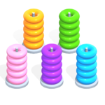 Color Hoop Stack – Sort Puzzle 1.0.7 MOD Unlimited Money