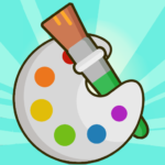 Coloring Book 9.9 MOD Unlimited Money