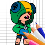 Coloring for Brawl Stars 0.1 MOD Unlimited Money