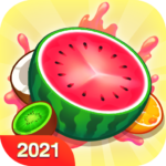 Fruit Crush – Merge Watermelon MOD Unlimited Money