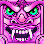 Scary Temple Princess Runner Games 2021 MOD Unlimited Money