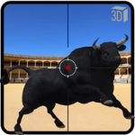 Angry Bull Attack Shooting MOD Unlimited Money