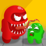 Block Clash Impostor Gang Puzzle Game MOD Unlimited Money
