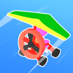Road Glider – Incredible Flying Game MOD Unlimited Money