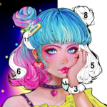 Sweet Coloring Color by Number Painting Game 1.0.30 MOD Unlimited Money
