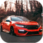 Civic Car Parking And Driving MOD Unlimited Money