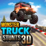 Monster Truck Game Impossible Car Stunts 3D MOD Unlimited Money