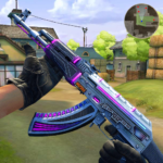Gun Fire Free Multiplayer PvP Shooting Game 3D MOD Unlimited Money